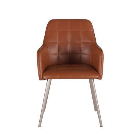 Hudson Faux Leather Armchair
