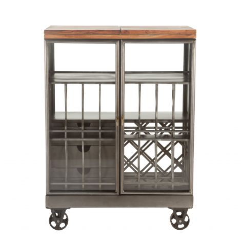 The Iron City Bar Cart