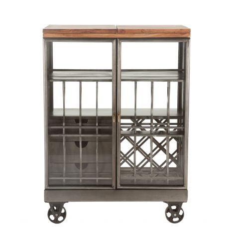 The Iron City Bar Cart