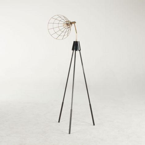 Nikola Conical Vintage Floor Lamp