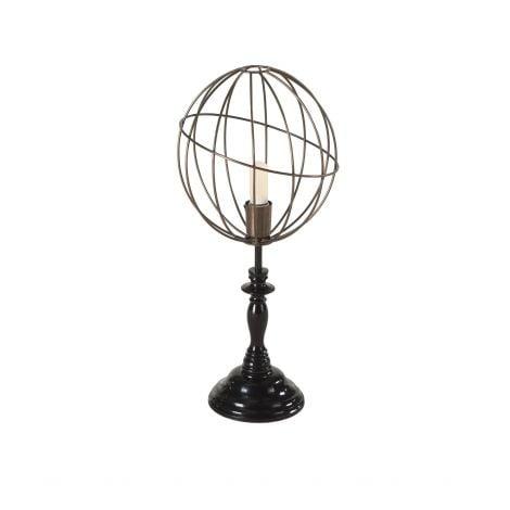 Nikola Globe Vintage Table Lamp