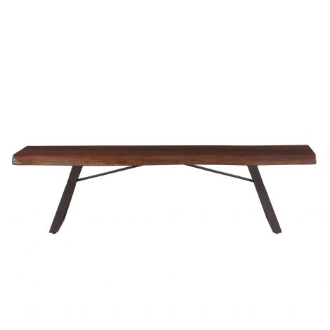 Nottingham Live Edge Dining Bench