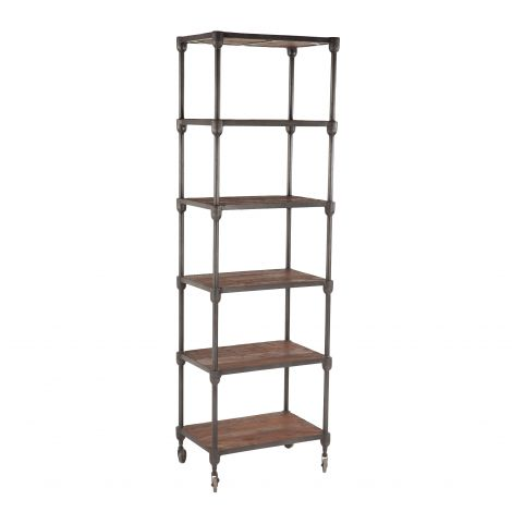 Paxton Industrial Bookshelf