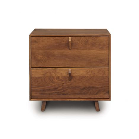 Keaton Two Drawer Nightstand