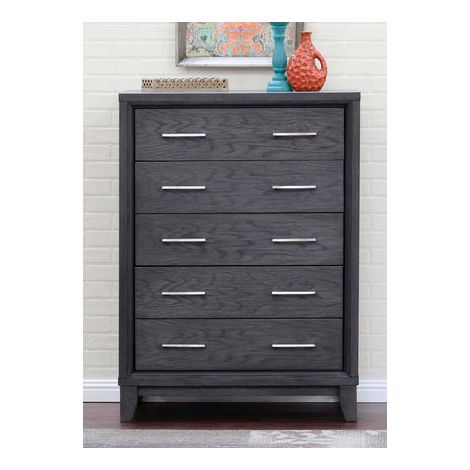 Cove Beach 5 Drawer High Chest