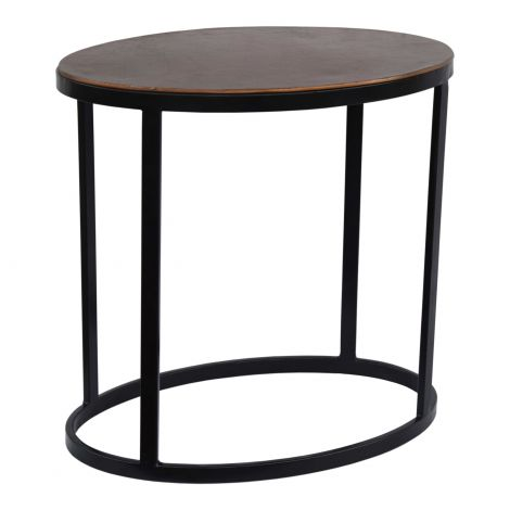 Ovoid Accent Table