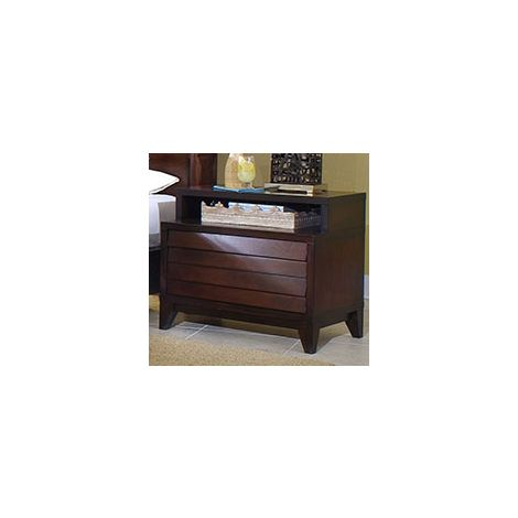 Kanal 2 Drawer Nightstand