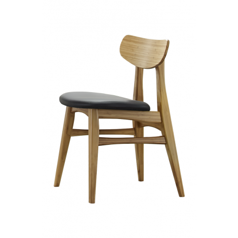 Azara Dining Chair with Leather Seat