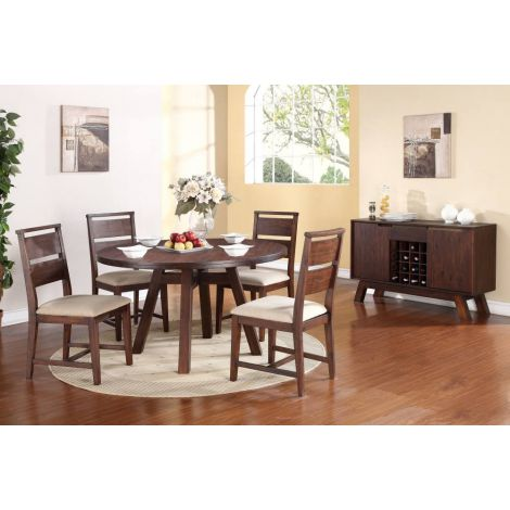Portland Round Dining Room Table Set