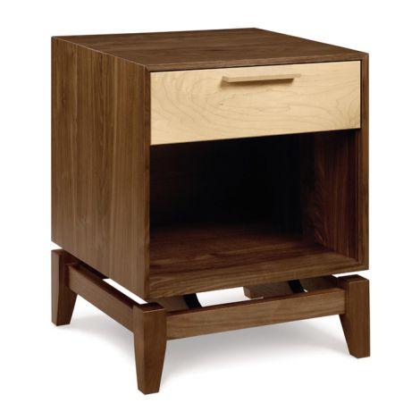 SoHo Single Drawer Nightstand w/ Shelf