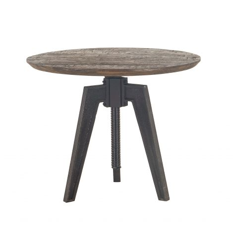 Dakota Round Adjustable Dining Table