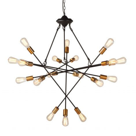 Element Industrial Multi-Light Chandelier