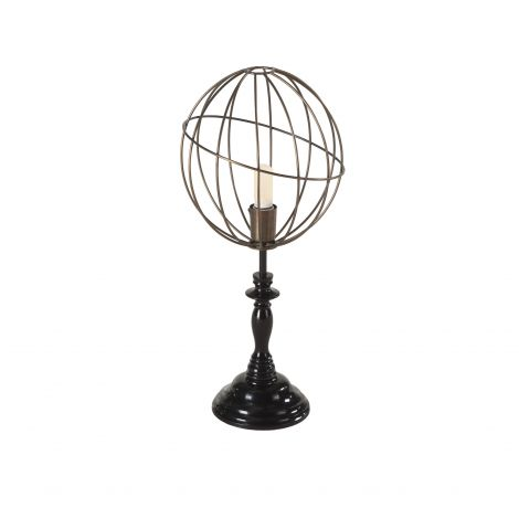 Nikola Globe Vintage Table Lamp