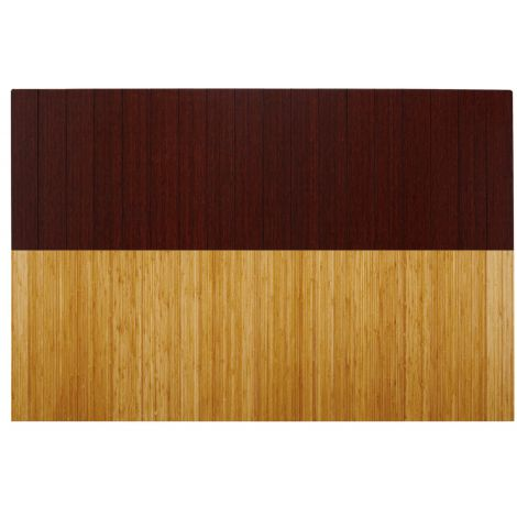 Deluxe Roll-Up Bamboo Chair Mat