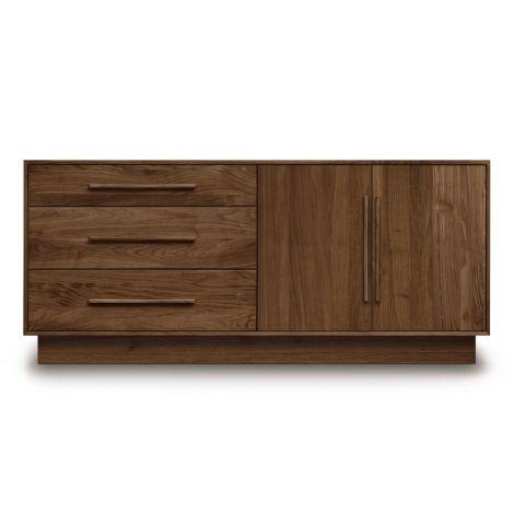 Mikado 2 Door, 3 Drawer Dresser-2 Doors Right, 3 Drawers Left Style