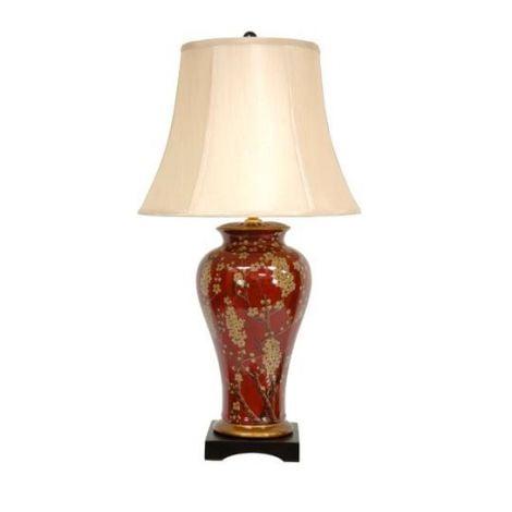 Sakura Blossom Vase Lamp