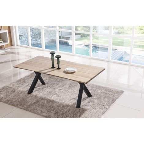 Plank Live Edge Dining Table