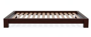 Dark Walnut Raku Tatami Platform Bed