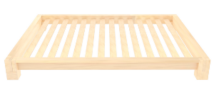 Natural Raku Tatami Platform Bed