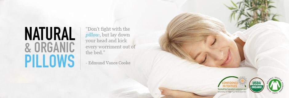 Natural and Organic Pillows from Haiku Designs