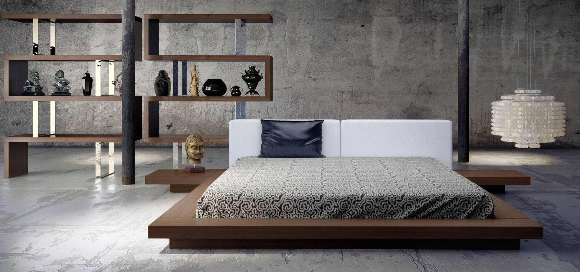 Worth Platform Bed