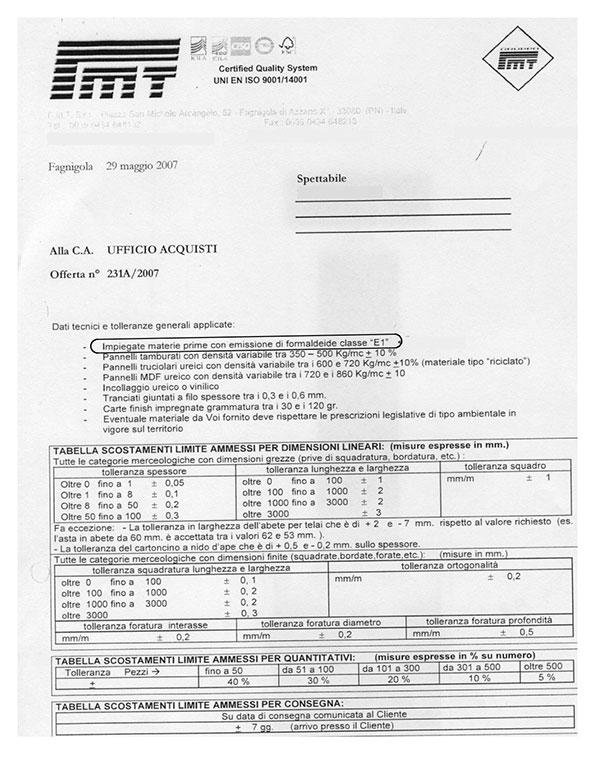 E1 Document