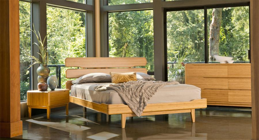 Tentai Bamboo Platform Bed