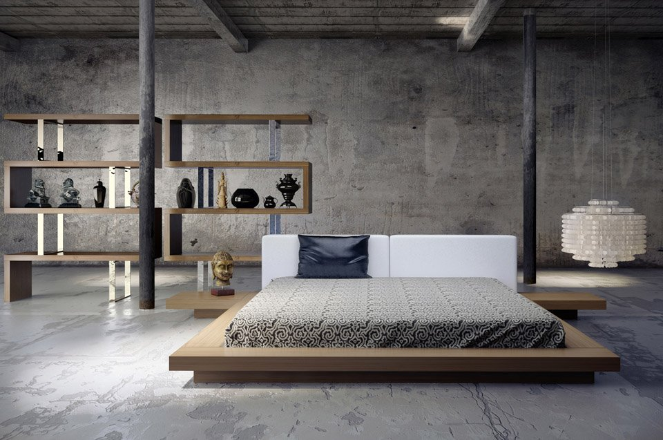 Arata Platform Bed