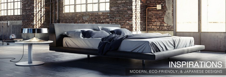Haiku Designs Inspirations: Modern, Eco-Friendly, & Japanese Designs - Bedroom Sets