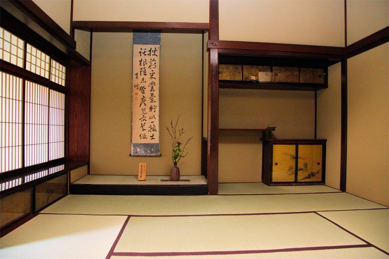 Tatami Mats in Classical Japanese Room Setting