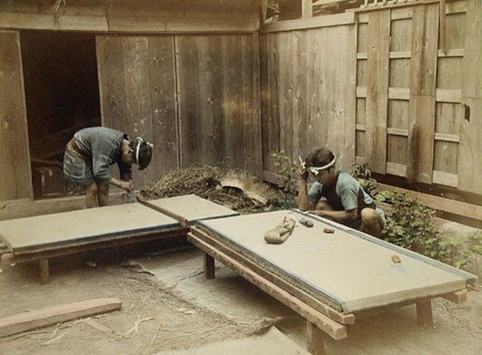 Making Tatami Mats