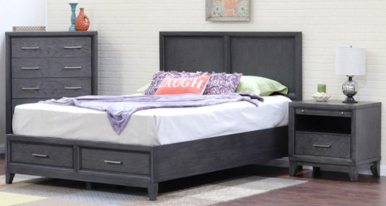 Haiku Designs Cove Beach Platform Bed
