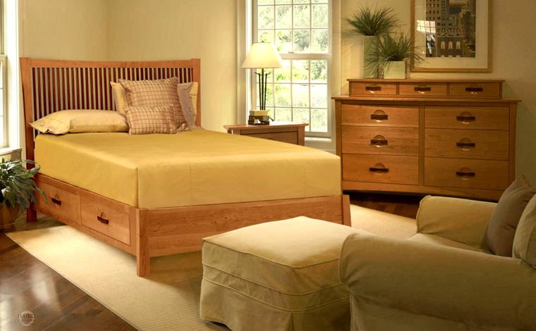 Slumber Platform Storage Bed