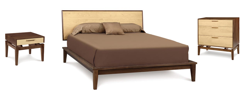 Soho Modern Platform Bed Copeland Furniture Haiku Designs