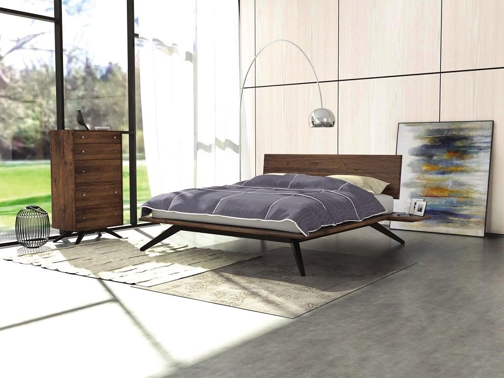 Astrid Platform Bed - 1 Panel