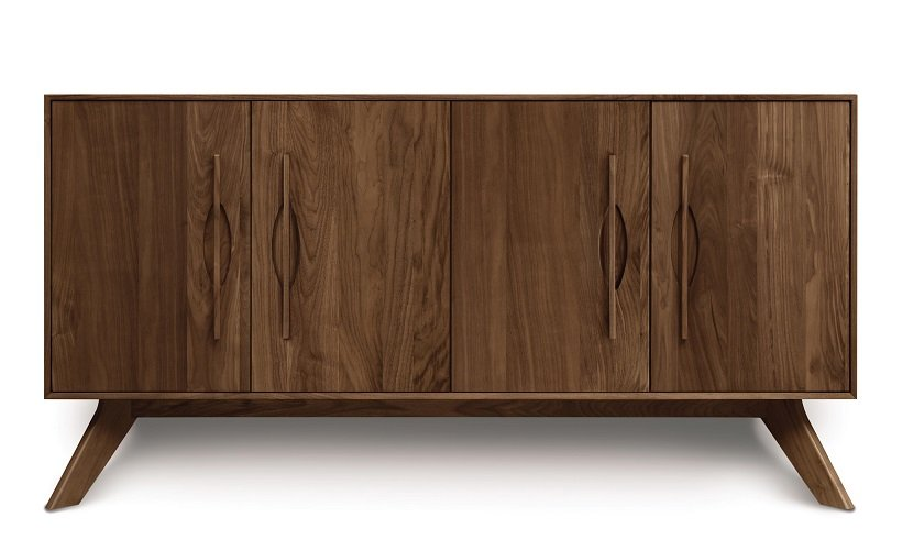 Audrey Buffet in Natural Walnut