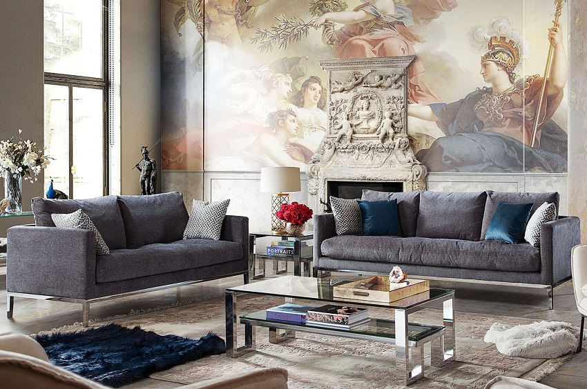 Cassel Sofa and Loveseat