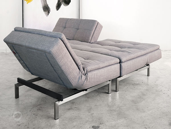 Vogue Convertible Sleeper Lounge Chair Different Configurations