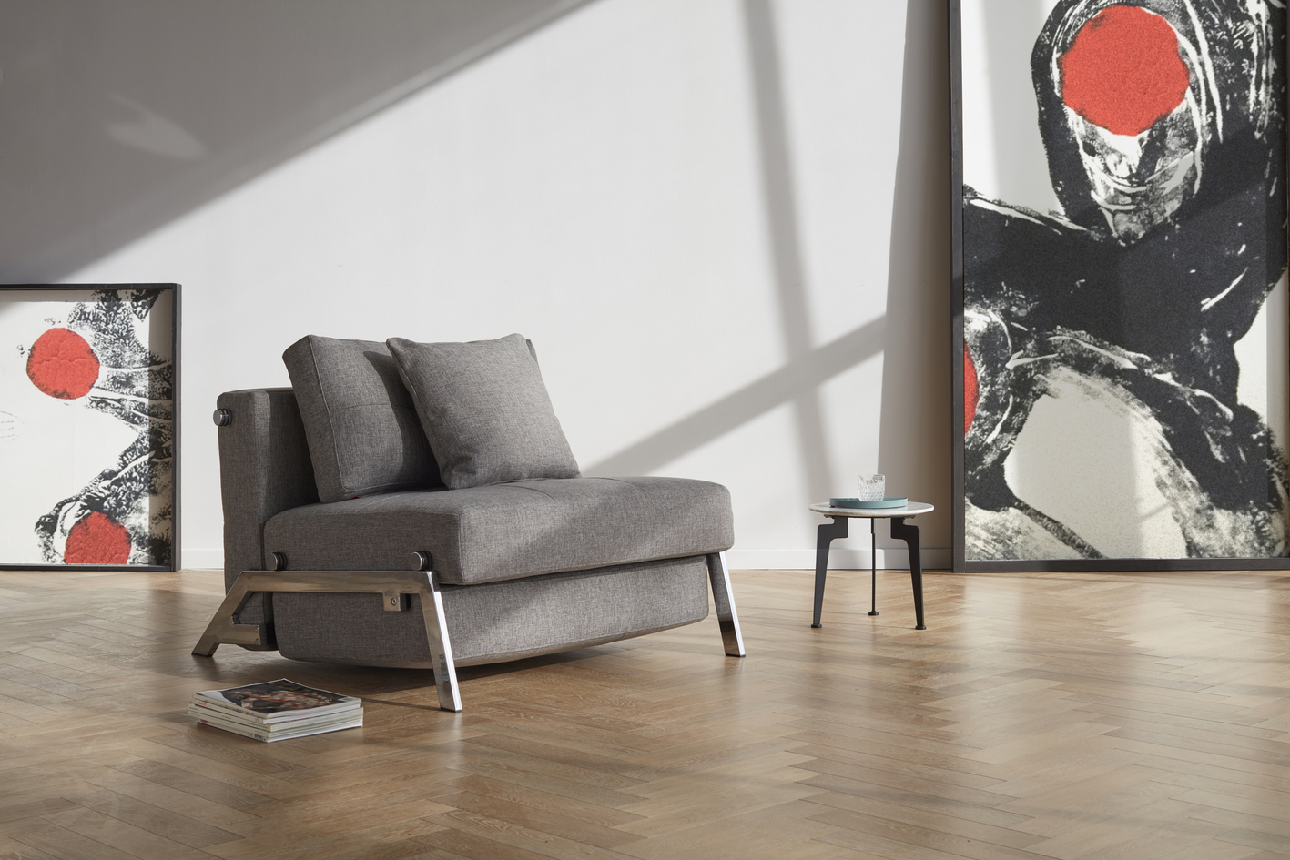 Zenkei Sleeper Chair in Sofa Mode