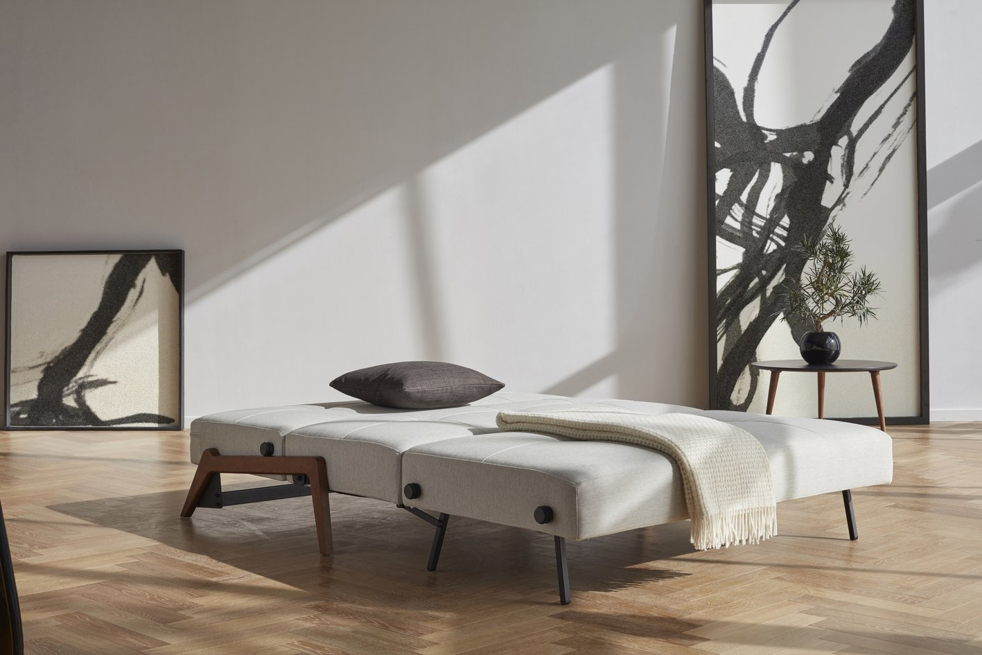 Zenkei Sleeper Sofa in Bed Mode