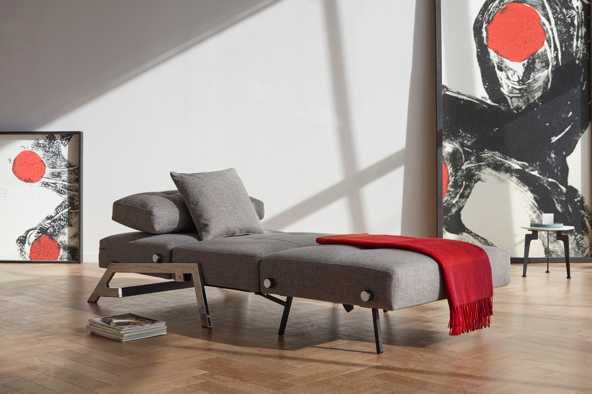 Zenkei Sleeper Chair in Twin Sofabed Mode